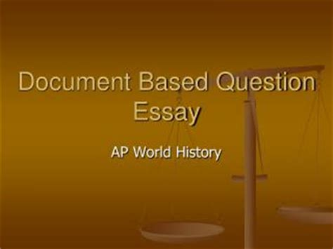 How to Earn the Contextualization Point on the APUSH DBQ